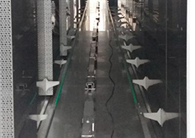 Sistema di movimentazione automatica carrelli per laboratori di panificazione e pasticceria