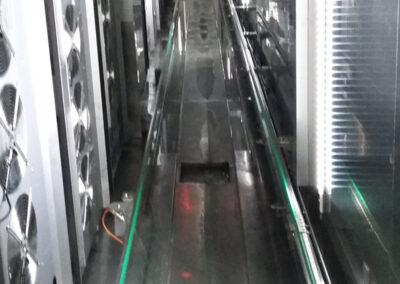 Sistema di movimentazione automatica dei carrelli per laboratori di panificazione e pasticceria